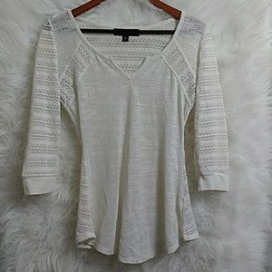New ALMOST FAMOUS 3/4 Sleeve Top L20